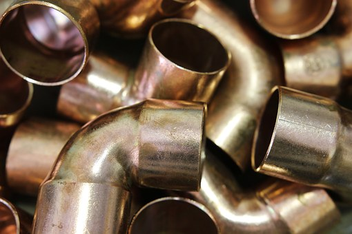Copper Metal Pipe Fittings Testing
