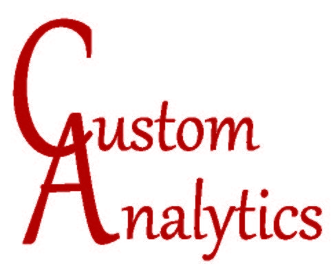 Custom Analytics - <span> <div>
